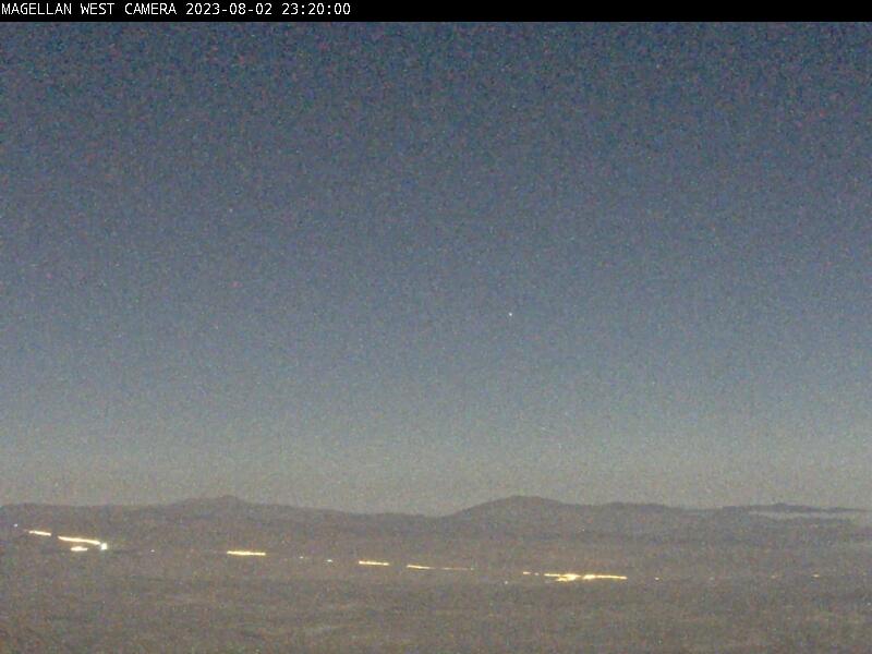 West View Camera Las Campanas Observatory